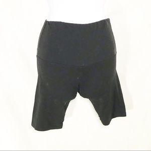 5/$25 Suzelle Black Biker Shorts Women's One Size